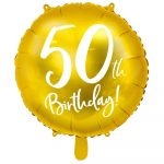 Balon Gold 50 let