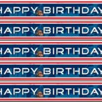 Cars banner Happy Birthday