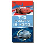 Cars plakat ali poster z Strelo in napisom The party is here