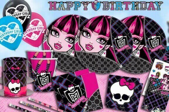 Monster High zabava