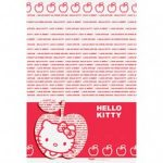 Namizni prt v rdeci barvi teme Hello Kitty Apple