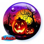 HAUNTED HALLOWEEN JACK zpotiskom svetlece buce