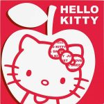 Hello Kitty Apple prticki