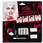 Make-up Vampirka set z barvam in krvjo